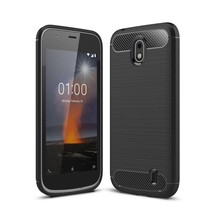 TPU Hoesje Nokia 1 - Zwart