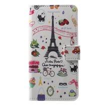 Booktype Hoesje Sony Xperia XZ2 - Eiffeltoren