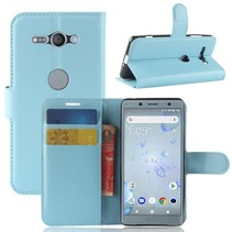 Litchee Booktype Hoesje Sony Xperia XZ2 Compact - Blauw