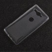 TPU Hoesje Sony Xperia XZ2 Compact - Transparant