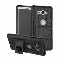 Hybrid Hoesje Sony Xperia XZ2 Compact - Zwart