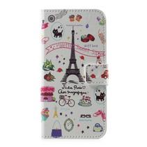 Booktype Hoesje Huawei P10 - Eiffeltoren
