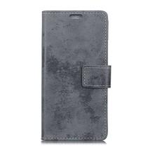Booktype Hoesje Huawei P20 - Grijs
