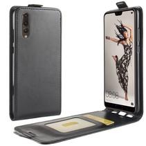 Flipcase Hoesje Huawei P20 - Zwart