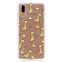 TPU Hoesje Huawei P20 - Giraffe's
