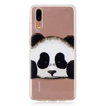 TPU Hoesje Huawei P20 - Panda