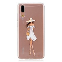 TPU Hoesje Huawei P20 - Fashion Girl