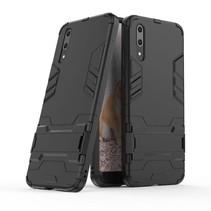 Hybrid Hoesje Huawei P20 - Zwart