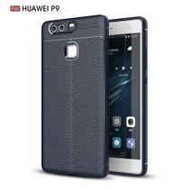 Litchee TPU Hoesje Huawei P9 - Blauw
