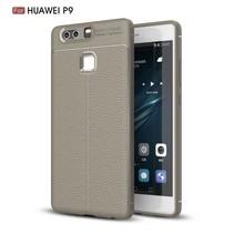 Litchee TPU Hoesje Huawei P9 - Grijs
