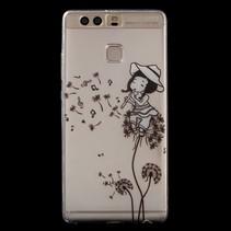 TPU Hoesje Huawei P9 - Meisje