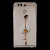 TPU Hoesje Huawei P9 - Fashion Girl