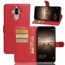 Booktype Hoesje Huawei Mate 9 - Rood