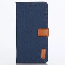 Booktype Hoesje Huawei P20 Lite - Jeans