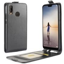 Flipcase Hoesje Huawei P20 Lite - Zwart