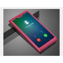 Booktype Hoesje Huawei P20 Lite - Roze