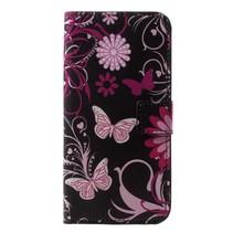 Booktype Hoesje Huawei P20 Lite - Roze Vlinders