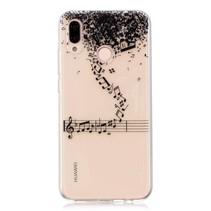 TPU Hoesje Huawei P20 Lite - Muzieknoten