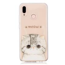 TPU Hoesje Huawei P20 Lite - Meow