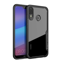 Hybrid Hoesje Huawei P20 Lite - Zwart