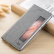 Venster Booktype Hoesje Huawei P20 Pro - Grijs
