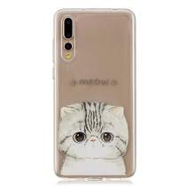 TPU Hoesje Huawei P20 Pro - Meow