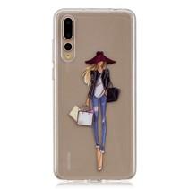 TPU Hoesje Huawei P20 Pro - Fashion Girl