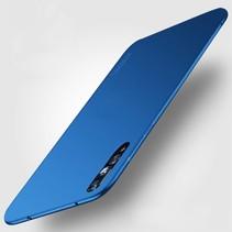 TPU Hoesje Huawei P20 Pro - Blauw
