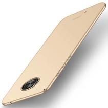 Hardcase Hoesje Motorola Moto G6 - Goud