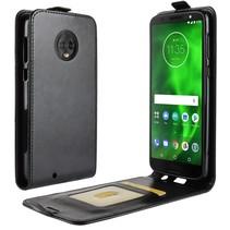 Flipcase Hoesje Motorola Moto G6 - Zwart