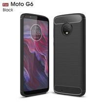 TPU Hoesje Motorola Moto G6 - Zwart