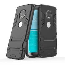 Hybrid Hoesje Motorola Moto G6 - Zwart