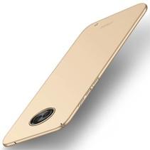 Hardcase Hoesje Motorola Moto G6 Plus - Goud