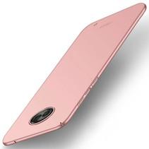 Hardcase Hoesje Motorola Moto G6 Plus - Rose Goud