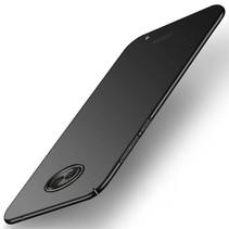 Hardcase Hoesje Motorola Moto G6 Plus - Zwart