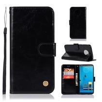 Booktype Hoesje Motorola Moto G6 Plus - Zwart