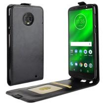 Flipcase Hoesje Motorola Moto G6 Plus - Zwart