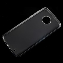 TPU Hoesje Motorola Moto G6 Plus - Transparant