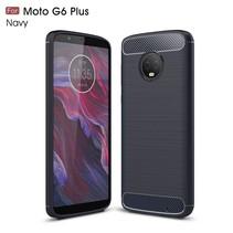 TPU Hoesje Motorola Moto G6 Plus - Zwart