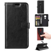 Booktype Hoesje Motorola Moto E5 / G6 Play - Zwart