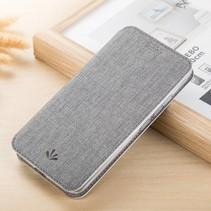 Booktype Hoesje Motorola Moto E5 / G6 Play - Grijs