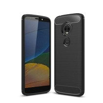 TPU Hoesje Motorola Moto E5 / G6 Play - Zwart