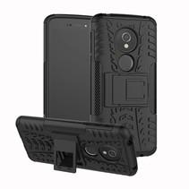 Hybrid Hoesje Motorola Moto E5 / G6 Play - Zwart