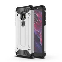 Hybrid Hoesje Motorola Moto E5 / G6 Play - Zilver