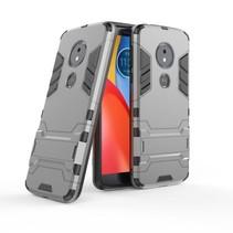 Hybrid Hoesje Motorola Moto E5 / G6 Play - Grijs