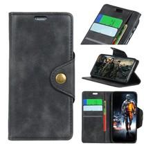 Booktype Hoesje Motorola Moto E5 Plus - Zwart
