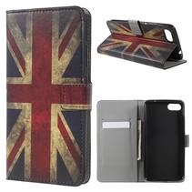 Booktype Hoesje Asus Zenfone 4 Max - Britse Vlag