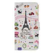 Booktype Hoesje Honor 9 Lite - Eiffeltoren