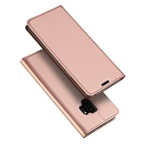 Skin Pro Series Booktype Hoesje Samsung Galaxy S9 - Rose Goud