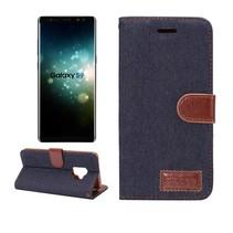 Jeans Booktype Hoesje Samsung Galaxy S9
